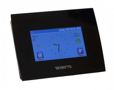 WATTS VISION centralenhed BT-CT02-RF, touch skærm WIFI - app sort